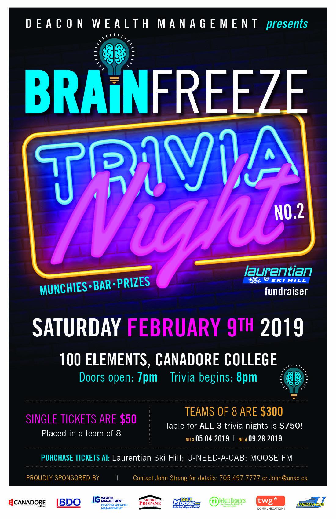 Brain Freeze Feb 10